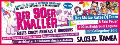 Der 90er Knaller meets Crazy Unicorns