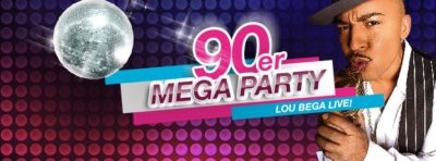 90er Mega Party mit Lou Bega live am 28.01.2017 - 28.01.2017
