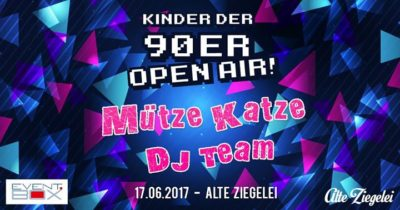 Kinder der 90'er – Open Air @Alte Ziegelei Eisenach 17.06.2017 - 17.06.2017