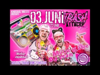 Trash Attacke!!! IN PINK!!! - 03.06.2017