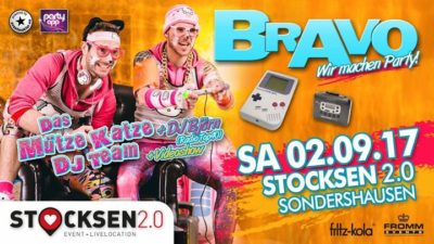 BRAVO PARTY | Stocksen 2.0 - 02.09.2017