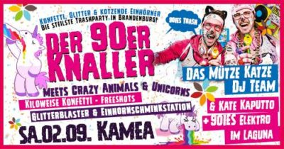 Der 90er Knaller meets crazy Animals & Unicorns