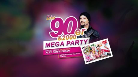 90er & 2000er Mega Party mit Alex Christensen (U96)