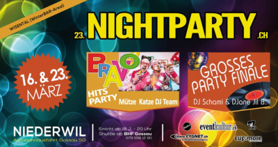 Nightparty Niederwil 2019 - 23.03.2019