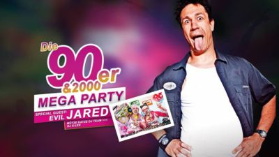 Die 90er & 2000er Mega Party - 27.04.2019