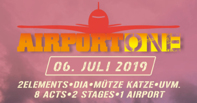 Airport One -Open Air- / Flugplatz Aschersleben - 06.07.2019