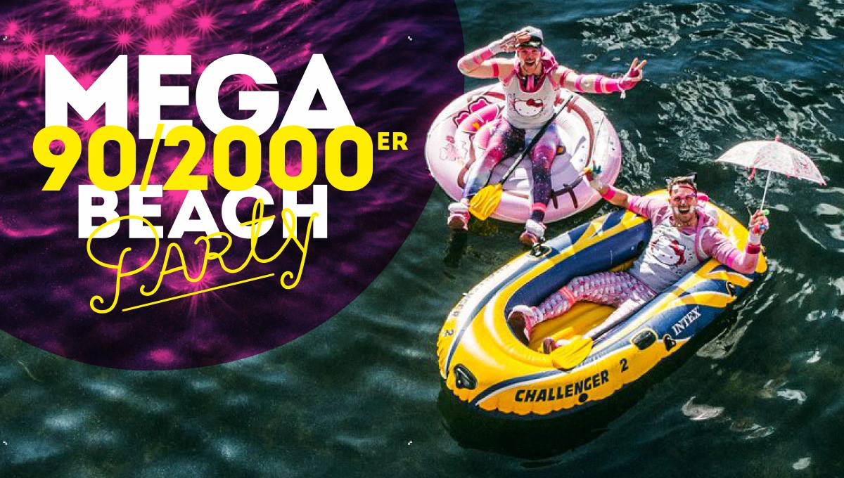 Mega 90/2000er Beachparty ★ Potsdam ★ – 22.06.2019 – 14473 Potsdam - 22.06.2019