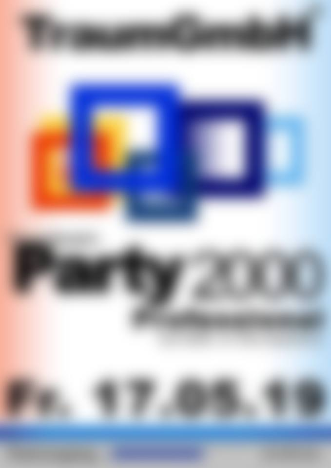 Party 2000 Professional – 17.05.2019 – Traum GmbH Orange Club Kiel - 17.05.2019