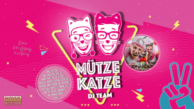 MÜTZE KATZE DJ TEAM | 90er, 2000er, Hands Up & Italo Edition
