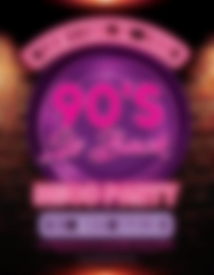 Party Tipp: ••• 90s is back! • hosted by DJMoziBerlin